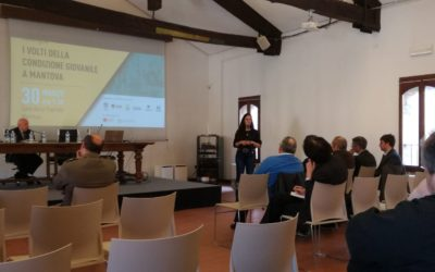 "(English) Participation in the conference ""The faces of the youth condition in Mantova"""