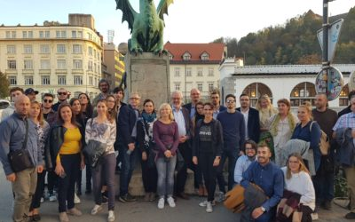 (English) eNEET Rural partners, stakeholders and young NEETs met in Ljubljana for the 1st Annual Event