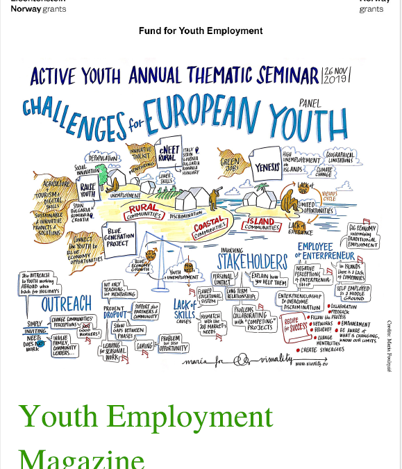 The third issue of the Youth Employment Online Magazine is now out!