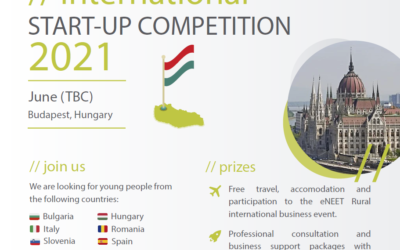 International start-up competition 2021 in Budapest